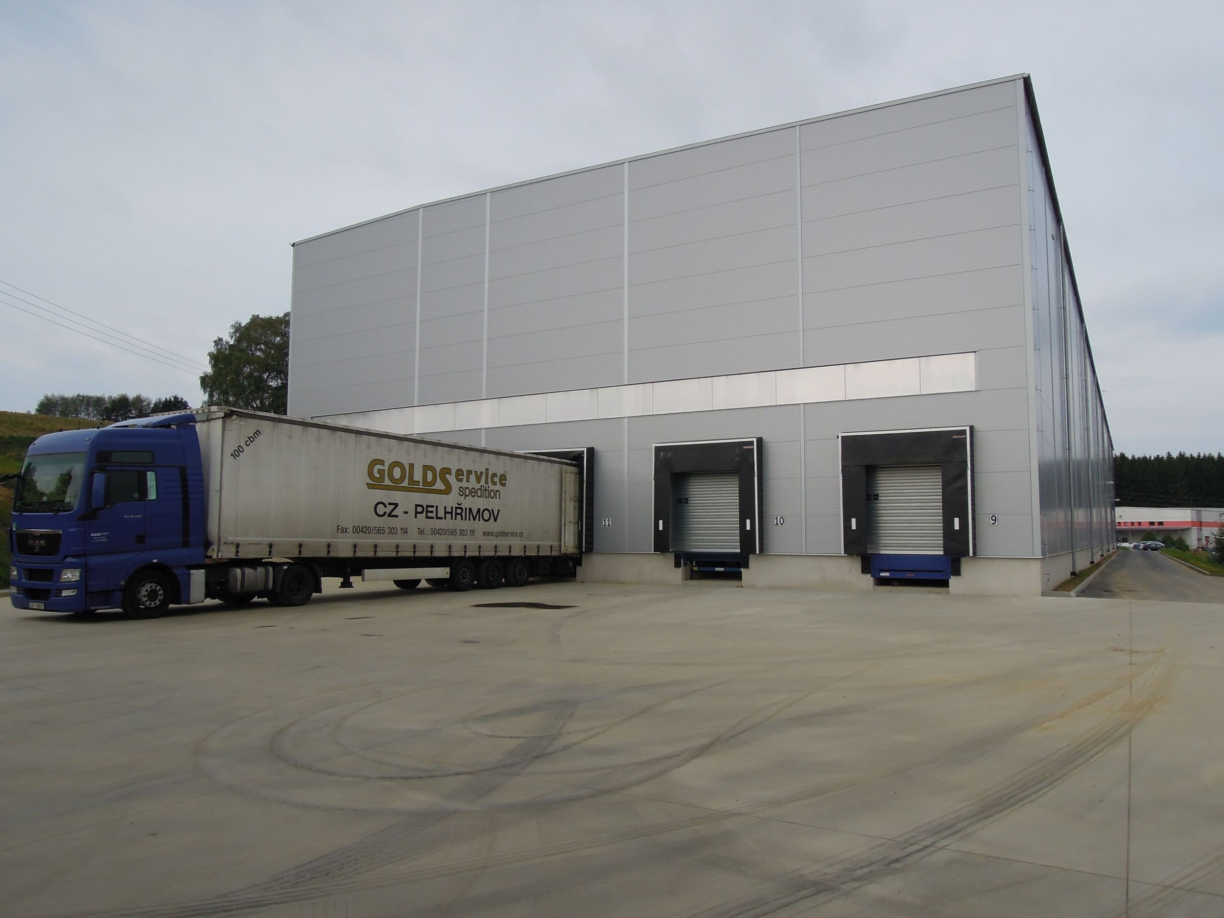 Lease of warehouse in Czech republic