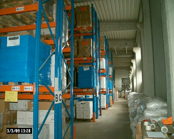 Goods storage Czech Republic Gold Service