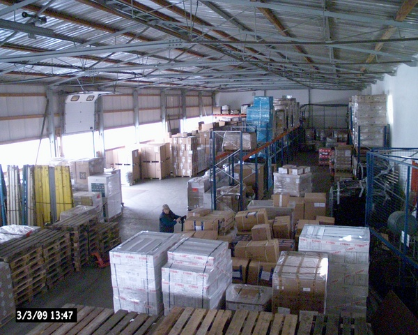 Storage of goods in Czech Republic Gold Service